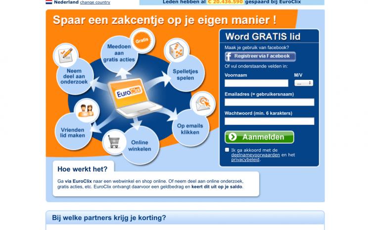 Geld verdienen met het EuroClix spaarprogramma